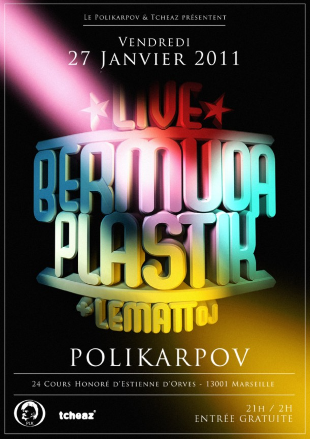 27/01 &#8211; BERMUDA PLASTIK LIVE + LEMATT